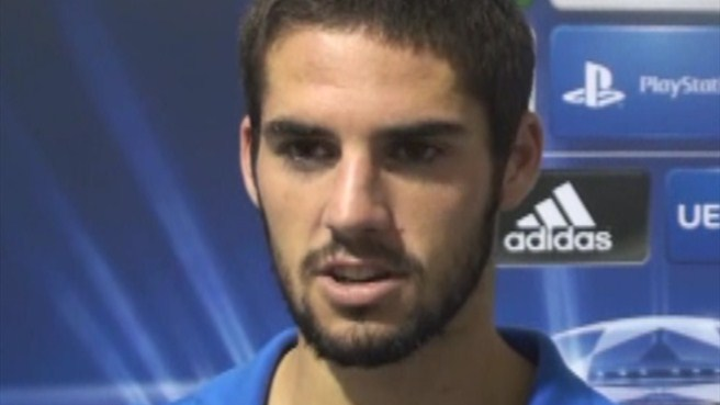 Isco: a 'complete' game for Málaga