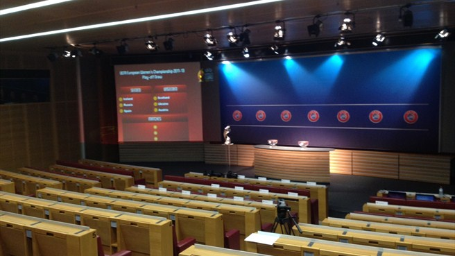 UEFA Women's EURO 2013 play-off draw