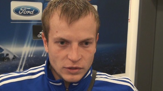 Dynamo Kyiv-Dinamo Zagreb player reaction