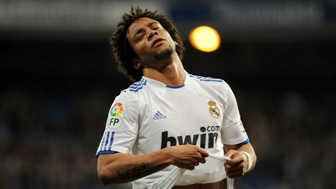 Madrid's Marcelo laid off with broken foot