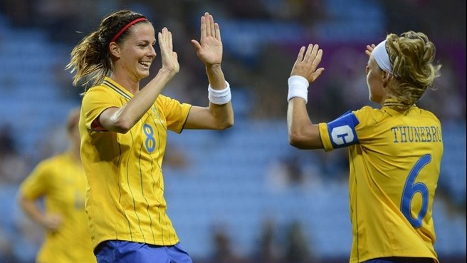 Sundhage promising positive Sweden