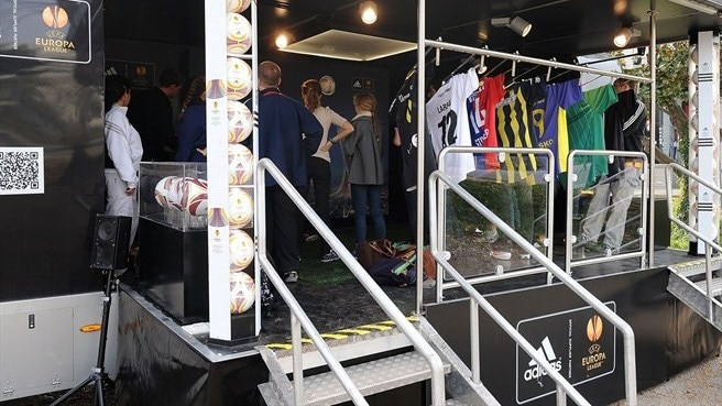 Europa League Truck Tour takes in Lyon