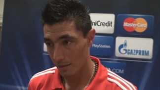 Cardozo at the double as Benfica see off Spartak