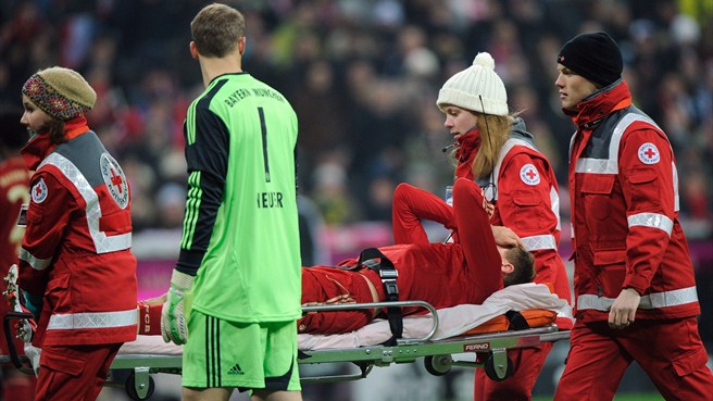 Bayern's Badstuber faces six months on sidelines
