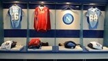 SSC Napoli dressing room