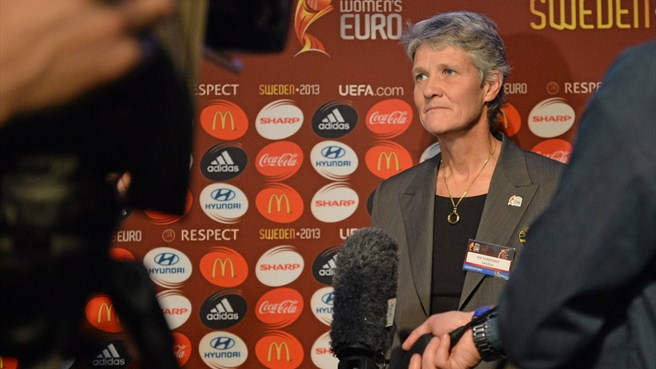 Sundhage and Rohlin promise Sweden party