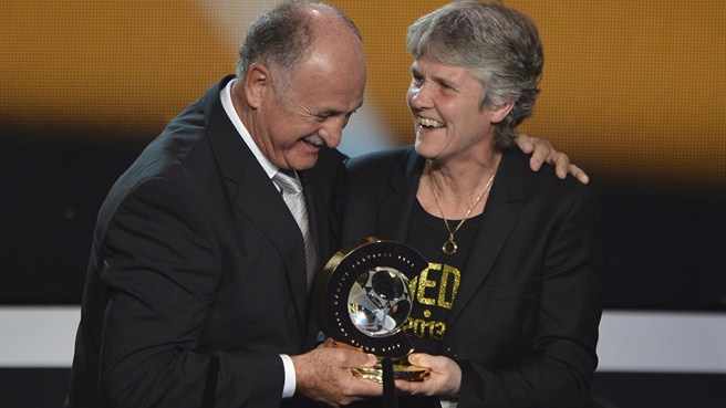 Sundhage named FIFA Women's Coach of the Year