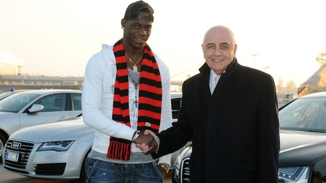 Milan bring Balotelli back to San Siro
