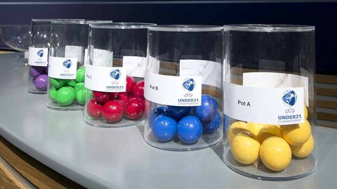 UEFA European Under-21 Championship draw balls and pots