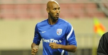 Nicolas Anelka has returned to Europe from Shanghai Shenhua