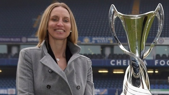 White's Champions League final honour