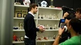 Gerard Piqué speaks to UEFA.com