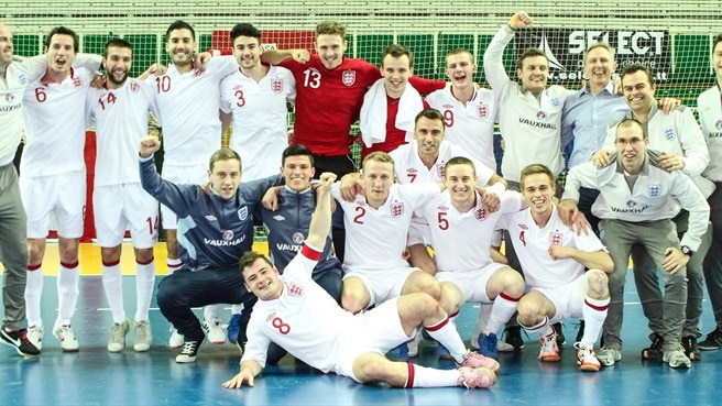 England experience next futsal level