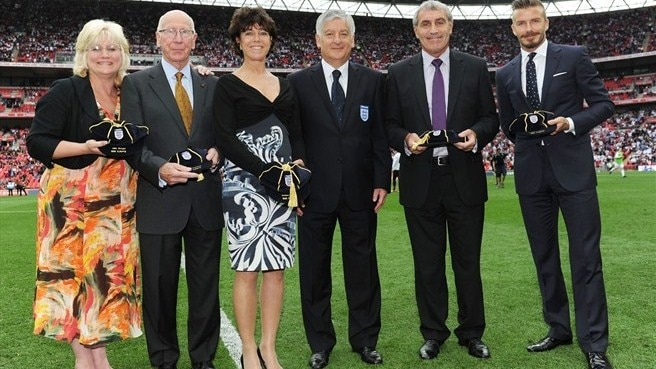 Stephanie Moore (widow of Bobby Moore)