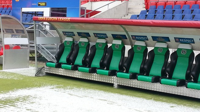 Hannover Arena dugout