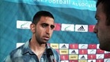 Israel U21 reaction
