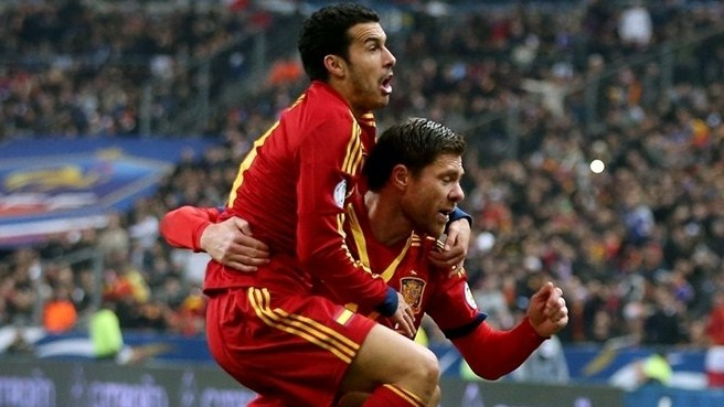 Pedro proud as Spain make it to 50