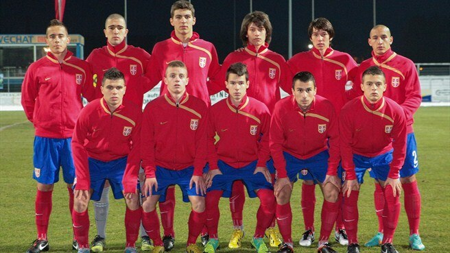 Serbia line up