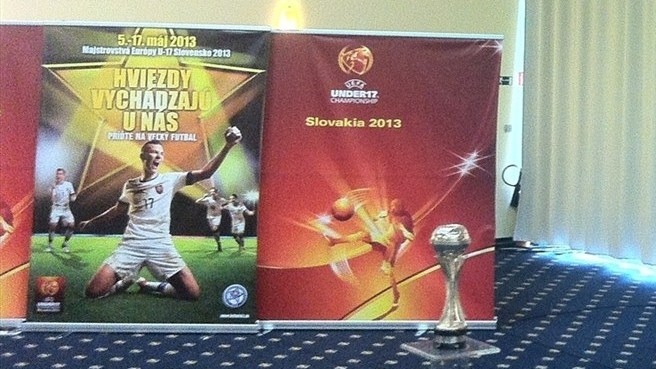 UEFA European Under-17 Championship finals draw & trophy