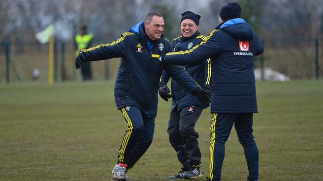 Larsson likes Sweden's chances