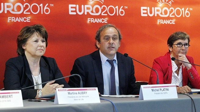 EURO 2016 steering group meets in Lille
