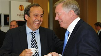Michel Platini: Thank you, Sir Alex