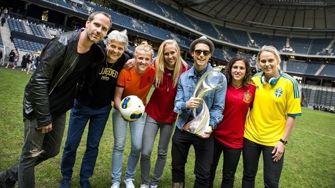 Winning Game theme song launch (Friends Arena)