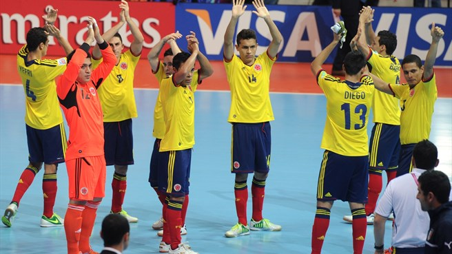 2016 Futsal World Cup for Colombia