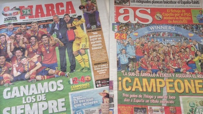 'Phenomenal' Spain leave press purring