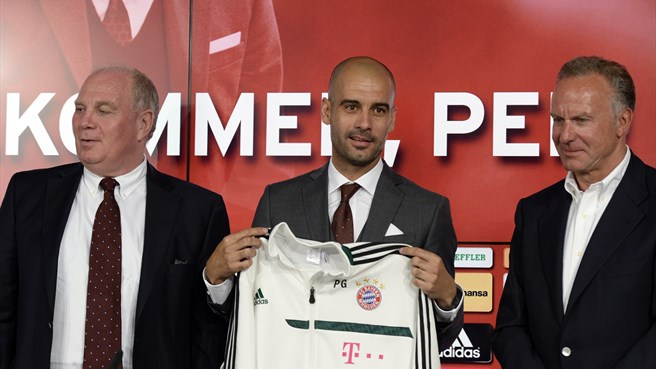 Returning Guardiola ready for Bayern challenge