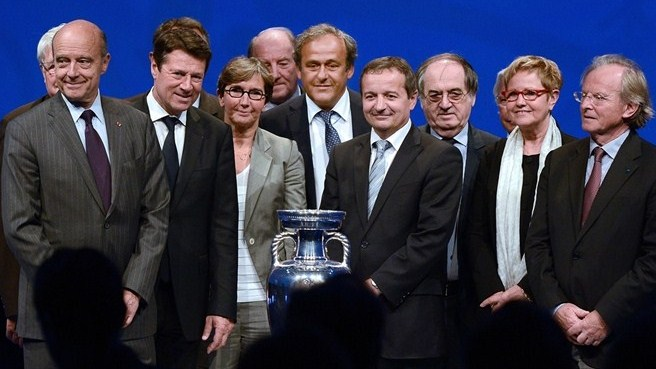 UEFA EURO 2016 logo launch