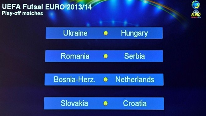 Ukraine drawn with Hungary in play-offs
