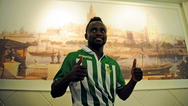 Betis bolster ranks with Cedric signing