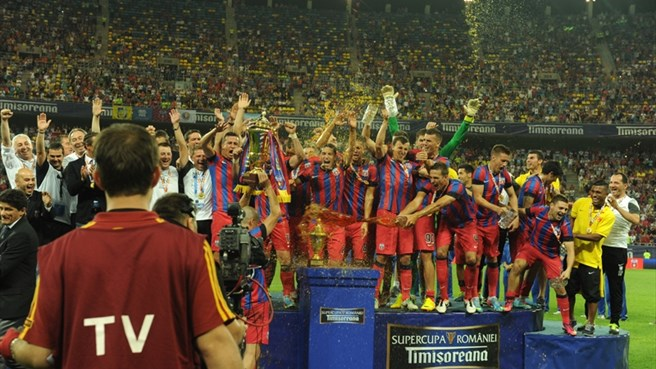 Steaua seal Romanian Super Cup success