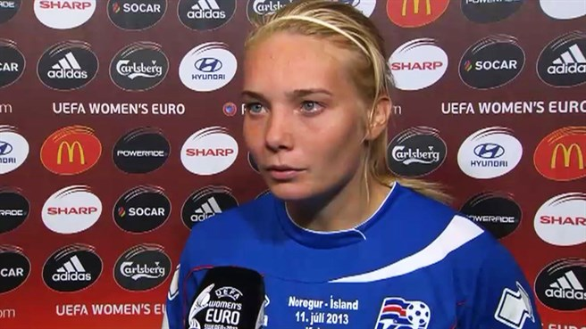 Vidarsdóttir unfazed by Germany challenge