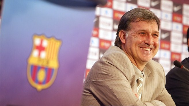 Martino introduces himself at Barcelona