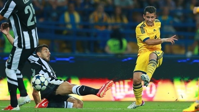 Metalist pass PAOK test to reach play-offs