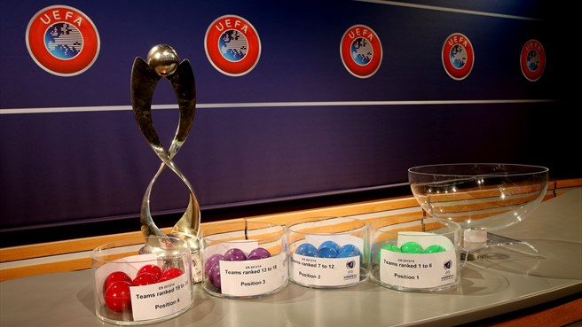 UEFA European Women's Under-17 Championship elite round draw balls