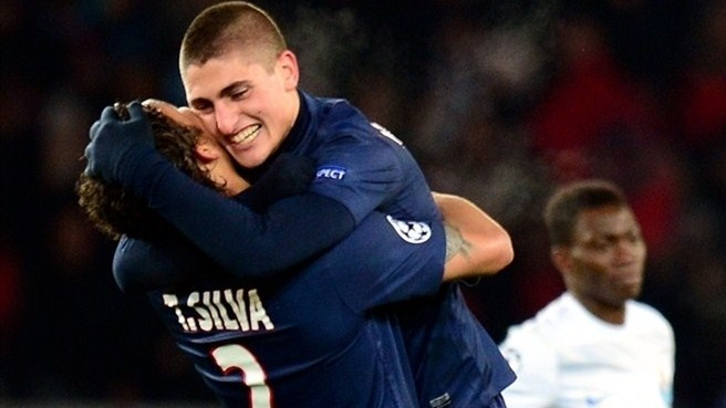 Silva and Verratti sign new PSG deals