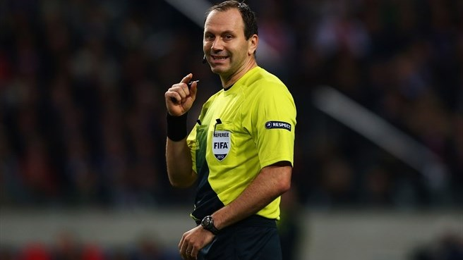 Referee Eriksson reflects on Super Cup honour