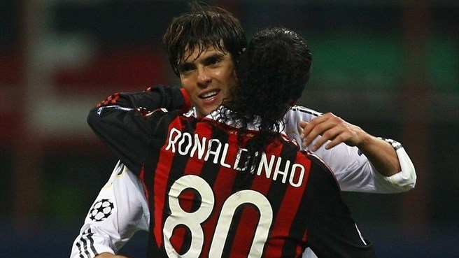 Madrid playmaker Kaká goes 'home' to Milan