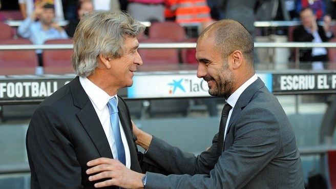 Guardiola and Pellegrini prepare to meet again
