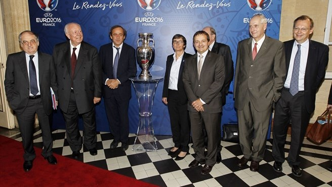 UEFA EURO 2016 steering committee meeting in Marseille