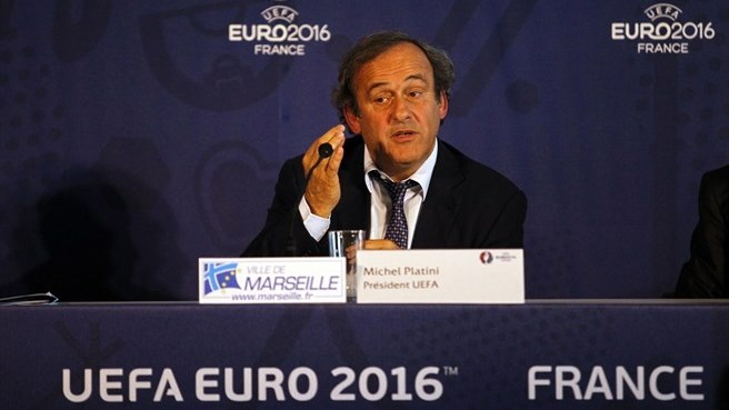 Michel Platini (UEFA EURO 2016 steering committee meeting in Marseille)