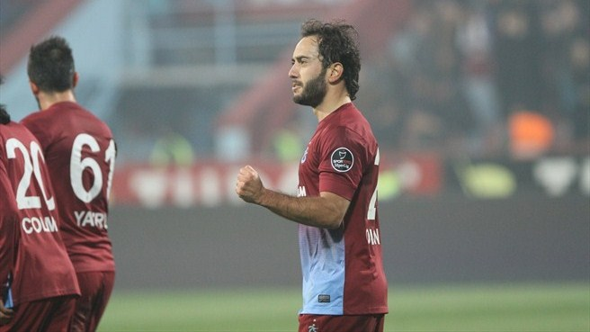 Olcan on the rise with Trabzonspor