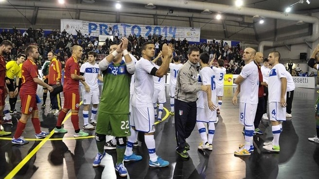Futsal EURO finalists hone plans in friendlies