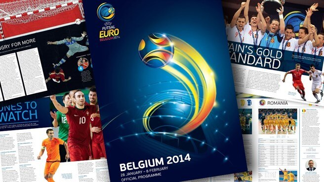 UEFA Futsal EURO programme out now