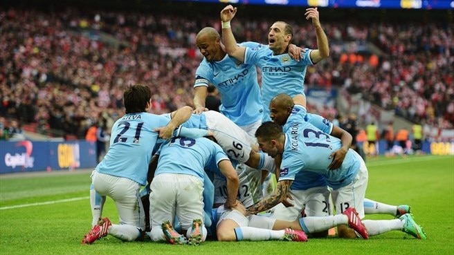City sink battling Sunderland to lift League Cup