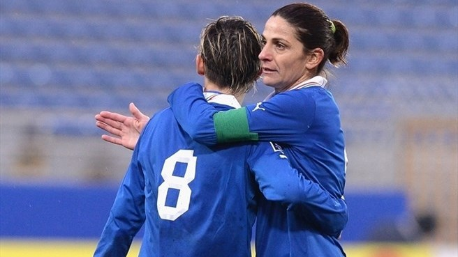 Panico claims 100th Italy goal
