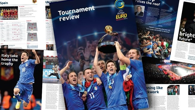 UEFA Futsal EURO 2014  review out now
